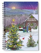 Winter At Campton Farm Spiral Notebook
