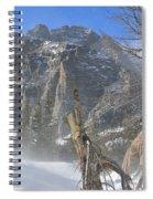 Winter At Loch Vale 3 Spiral Notebook