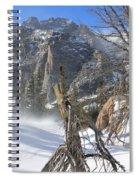 Winter At Loch Vale Spiral Notebook