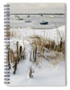 Winter At The Beach 2 Spiral Notebook