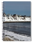 Winter At The Coast Spiral Notebook