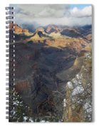 Winter At The Grand Canyon Spiral Notebook