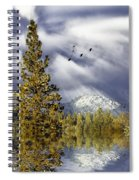 Winter Blessings Spiral Notebook