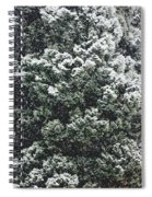 Winter Bush Spiral Notebook