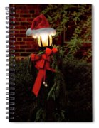 Winter - Christmas - It's Going To Be A Cold Night Spiral Notebook