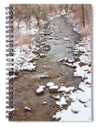 Winter Creek Scenic View Spiral Notebook