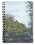 Winter Cruise Spiral Notebook