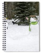 Winter Dance Of The Snow People Spiral Notebook