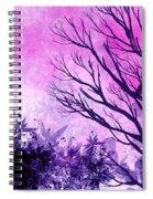 Winter Dreams  Spiral Notebook