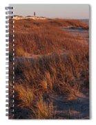 Winter Dunes Iv Spiral Notebook