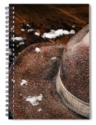 Winter Duty Spiral Notebook