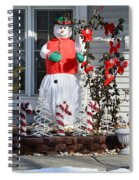 Winter Festival  Spiral Notebook