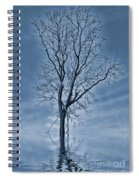Winter Floods Spiral Notebook