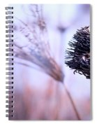 Winter Flowers  Spiral Notebook