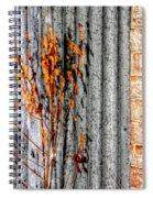 Winter Foliage Tin 13134 Spiral Notebook