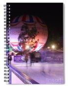 Winter Gardens Ice Rink And Balloon Bournemouth Spiral Notebook