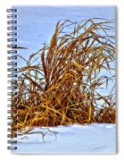 Winter Grasses II Spiral Notebook