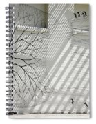 Winter Haven Abstract Spiral Notebook