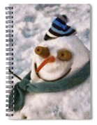 Winter - I'm Ready For My Closeup Spiral Notebook