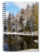 Winter Impressions ... Spiral Notebook