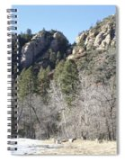 Winter In Arizona Spiral Notebook