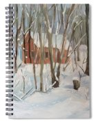 Winter In Campton New Hampshire Spiral Notebook