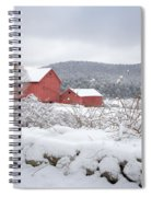 Winter In Connecticut Spiral Notebook