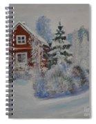 Winter In Finland Spiral Notebook