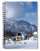 winter in the Bavarian alps 1 Spiral Notebook
