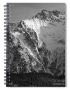 winter in the Bavarian alps 4 Spiral Notebook