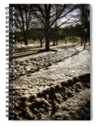 Winter In The Berkshires Spiral Notebook