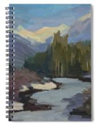 Winter In The Cascade Mountains Spiral Notebook