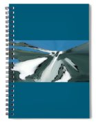 Winter In The Mountains Spiral Notebook