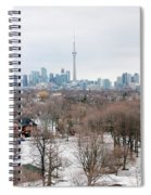 Winter In Toronto Spiral Notebook