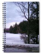 Winter In Vermont Spiral Notebook