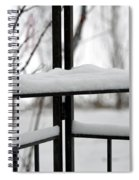 Winter Ironwork Spiral Notebook