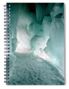 Winter Lit Spiral Notebook