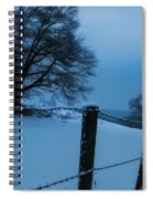 Winter Moon Spiral Notebook