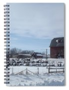 Winter Museum Spiral Notebook