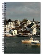 Winter On The Coast Spiral Notebook