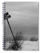 Winter On The Lake Spiral Notebook