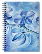 Winter Orchids Spiral Notebook
