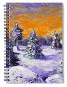 Winter Outlook Spiral Notebook
