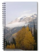 Winter Over Red Mountain Spiral Notebook