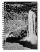 Winter Palouse Falls 3 Spiral Notebook