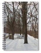 Winter Picnic Spiral Notebook