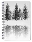 Winter Pines Spiral Notebook