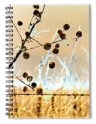 Winter Prairie Spiral Notebook
