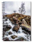 Winter Rapids V2 Spiral Notebook