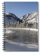 Winter River Spiral Notebook